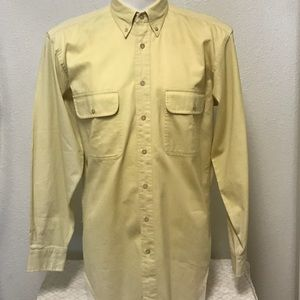 Brooks Brothers Long Sleeve Cotton M Double Pocket